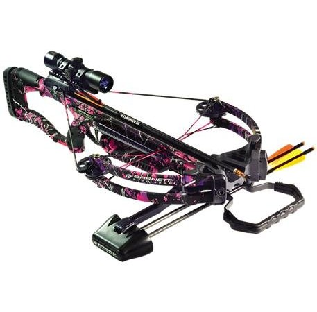 Barnett Raptor FX Pink Crossbow Package – Ladies Crossbow