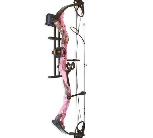 Pink Diamond Camo Compound Bow – Diamond Infinite Edge Pink Camo