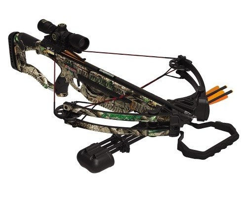 Barnett Outdoors Raptor FX Crossbow Package, Large, Camo