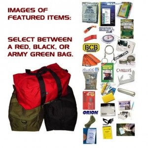 Total Wilderness Survival Kit Package