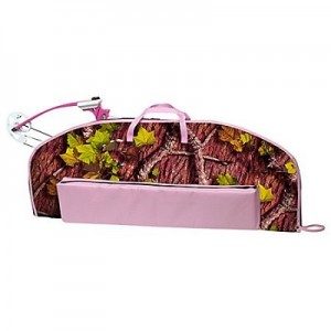 Princess Pink Camo Bow Case