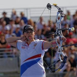 Source: Wikimedia Image Credit by Pyb 2013 FITA Womens Archery World Cup