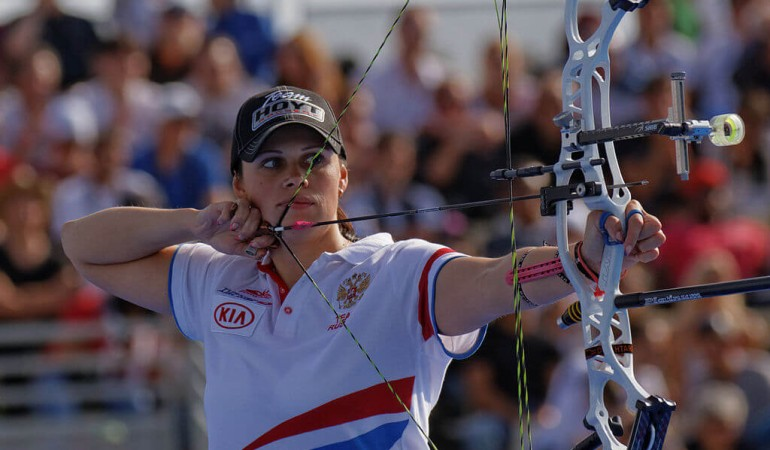 Source: Wikimedia Image Credit by Pyb 2013 FITA Womens Archery World Cup